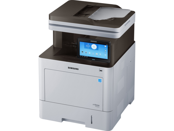 Samsung ProXpress SL-M4560FX Laser Multifunction Printer - Left