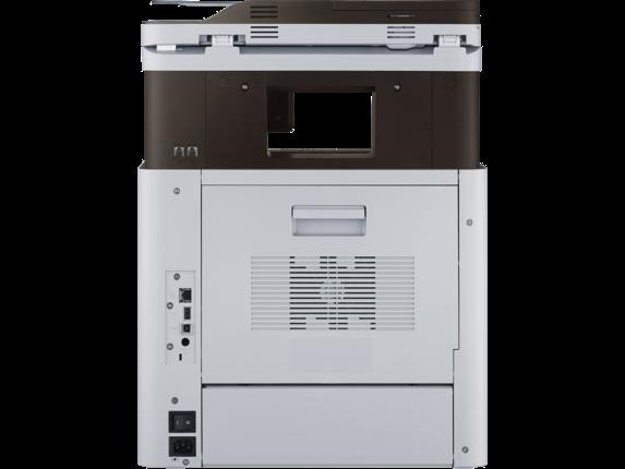 Samsung ProXpress SL-M4560FX Laser Multifunction Printer - Rear