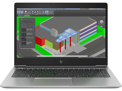 HP ZBook 14u G5 hordozható munkaállomás