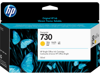 HP 730 Ink Cartridges