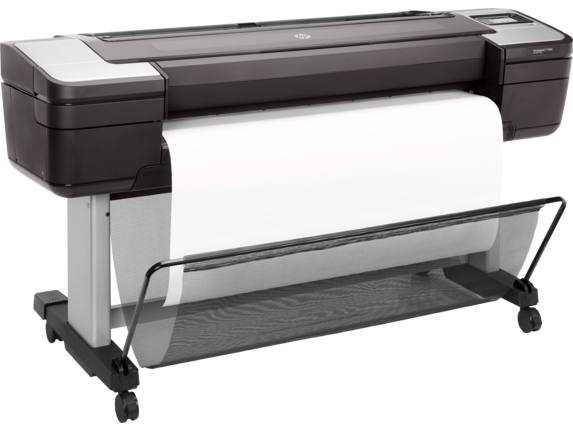 HP DesignJet T1700dr 44-in PostScript Printer - Right
