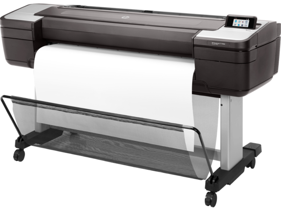 HP DesignJet T1700dr 44-in PostScript Printer - Left