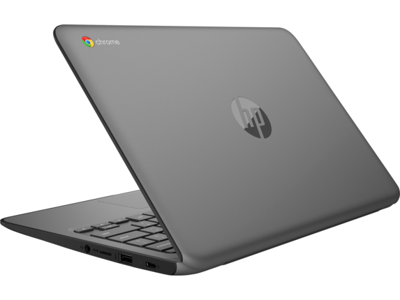 HP Chromebook 11 G6 EE - Left rear