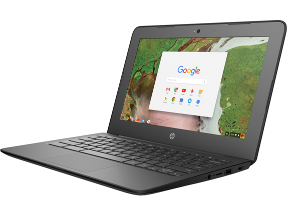 HP Chromebook 11 G6 EE - Left