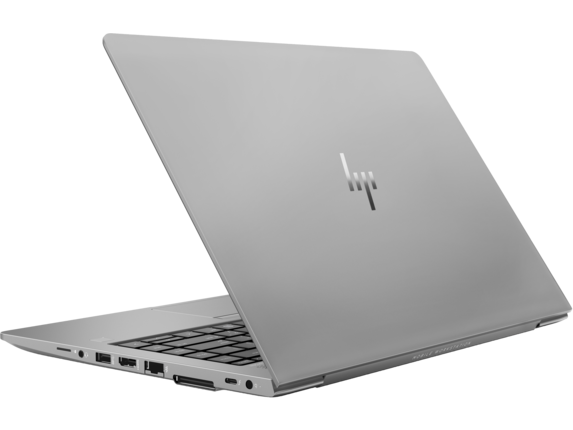 HP ZBook 14u G5 Mobile Workstation - Left rear