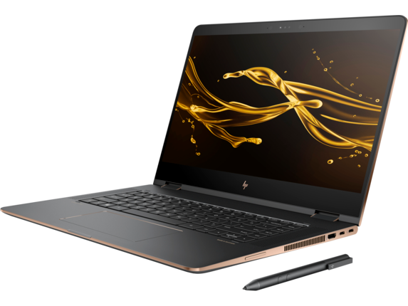 HP Spectre x360 Convertible Laptop - 15t touch - Left