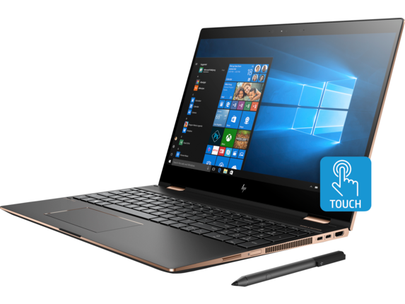 HP Spectre x360 Laptop - 15t touch - Left
