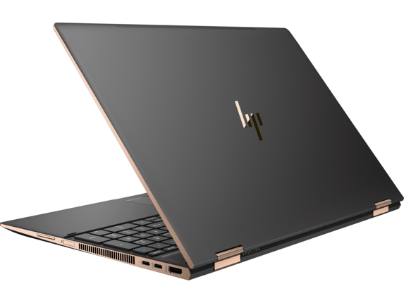 HP Spectre x360 Laptop - 15t touch Plus - Left rear