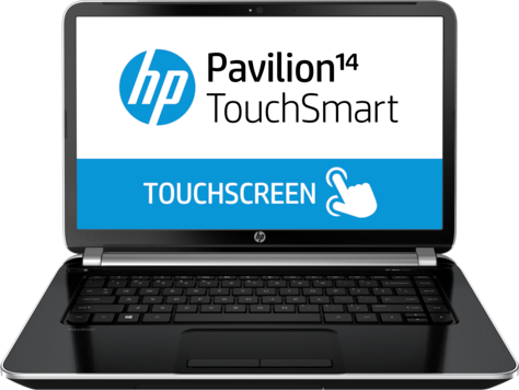 HP Pavilion TouchSmart 14-n100 Notebook PC-serien