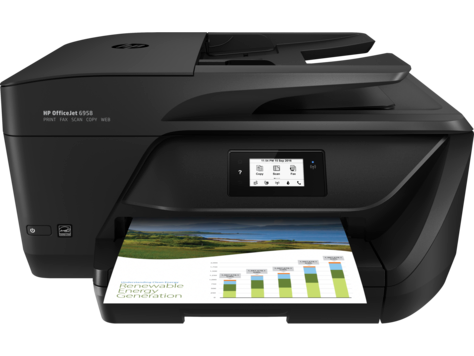 HP OfficeJet 6958 All-in-One Printer