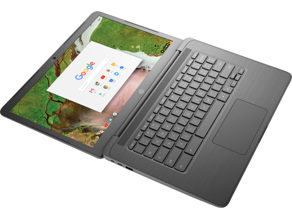 HP Chromebook 14 G5 - Top view closed