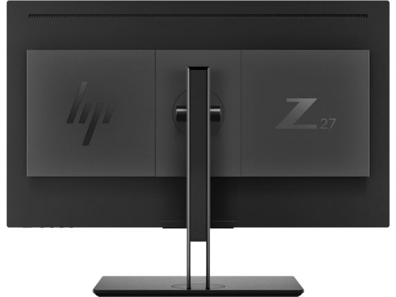 HP Z27 27-inch 4K UHD Display - Rear