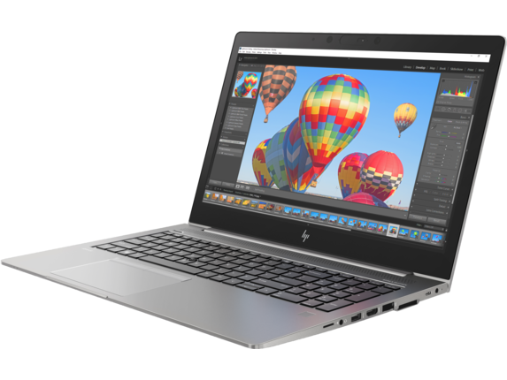 HP ZBook 15u G5 Mobile Workstation - Customizable - Left