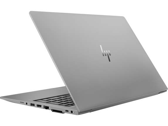 HP ZBook 15u G5 Mobile Workstation - Left rear