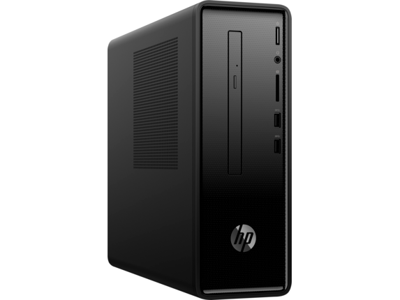 HP Slimline Desktop - 290-a0045m - Right