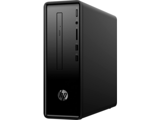 "HP Slimline 290xt Desktop PC + 25"" Display Bundle"