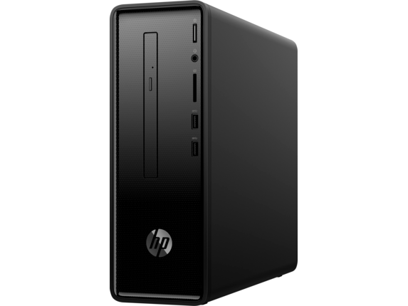HP Slimline Desktop - 290-p0035qd - Left