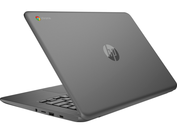 HP Chromebook - 14-ca020nr - Left rear