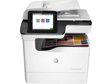 เครื่องพิมพ์ HP PageWide Managed Color MFP P77940 series