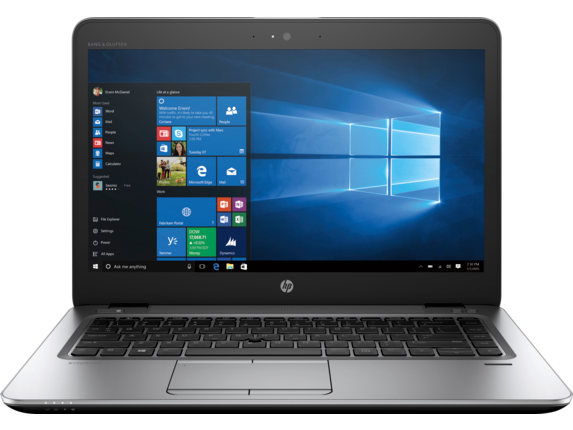 HP EliteBook 840r G4 Notebook PC - Customizable - Center