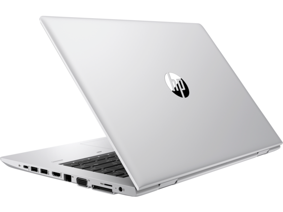 HP ProBook 640 G4 Notebook PC - Left rear
