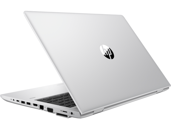 HP ProBook 650 G4 Notebook PC - Left rear