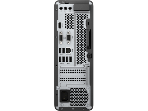 HP Slimline Desktop - 290-p0025xt - Rear