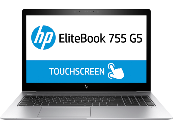 HP EliteBook 755 G5 Notebook PC - Center