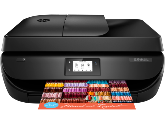 HP OfficeJet 4650 All-in-One Printer - Center