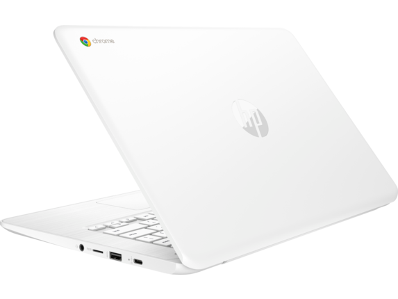 HP Chromebook - 14-ca060nr - Left rear