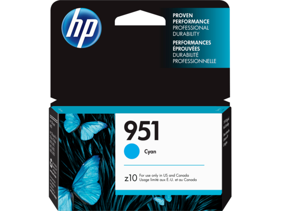 HP 951 Cyan Original Ink Cartridge