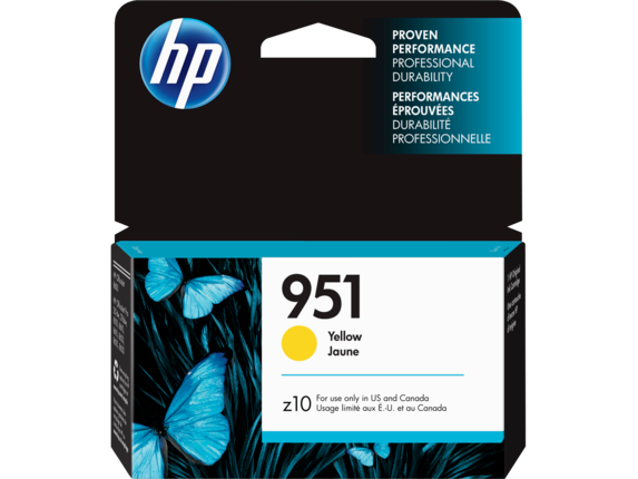 HP 951 Yellow Original Ink Cartridge