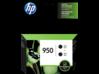 HP 950 2-pack Black Original Ink Cartridges - Center