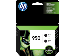 HP 950 2-pack Black Original Ink Cartridges, L0S28AN#140