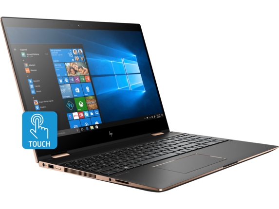 HP Spectre x360 15t Touch Laptop - Gfx Plus - Right