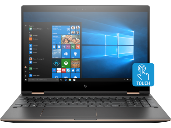 HP Spectre x360 15t Touch Laptop - Gfx Plus - Center