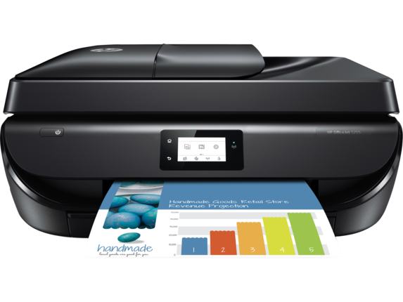 HP OfficeJet 5255 All-in-One Printer - Center