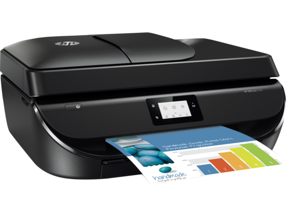HP OfficeJet 5255 All-in-One Printer - Right