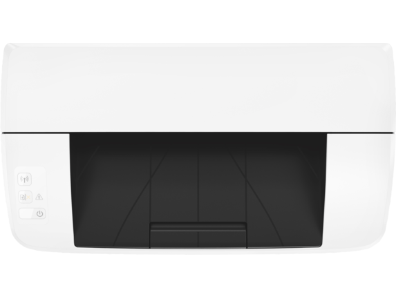 HP LaserJet Pro M15w Printer - Top view closed