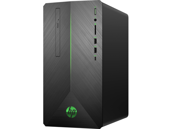 HP Pavilion Gaming Desktop 690-0020 - Left