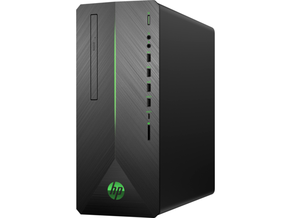 HP Pavilion Gaming Desktop 790-0045se - Left