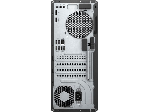HP Pavilion Gaming Desktop - 790-0050xt - Rear