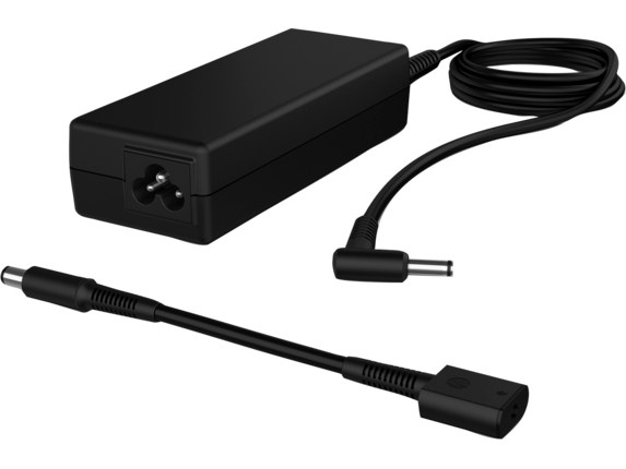 HP 90W Smart AC Adapter - Left