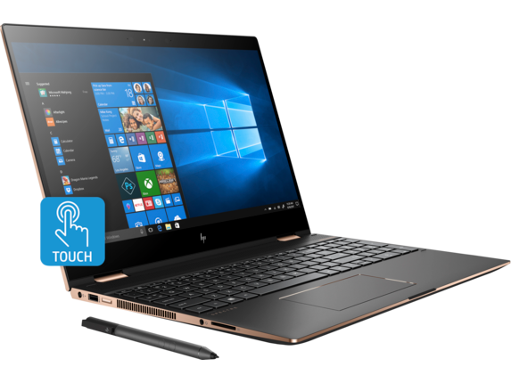 HP Spectre x360 Laptop - 15t touch Plus - Right