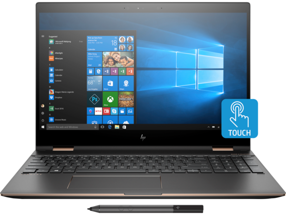 HP Spectre x360 Laptop - 15t touch Plus - Center