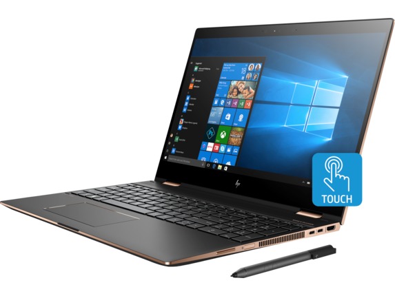 HP Spectre x360 Laptop - 15t touch Plus - Left