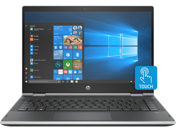 HP Pavilion x360 Convertible Laptop - 14t touch - Center