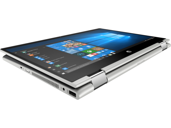 HP Pavilion x360 Convertible Laptop - 14t touch - Top view closed
