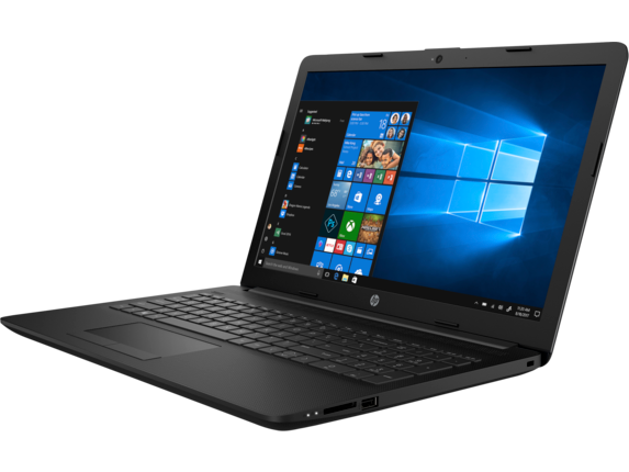 HP Laptop - 15t touch with Intel i7 - Left