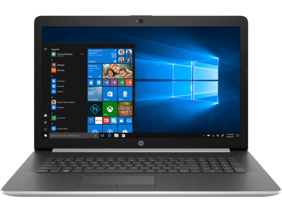 HP Laptop - 17z touch optional - Center